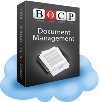 Online Document Management, emiterea documentelor pe baza de sabloane