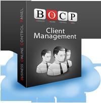 Client Management Online, Baza de date clienti